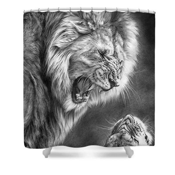 Heat Of The Night Shower Curtain