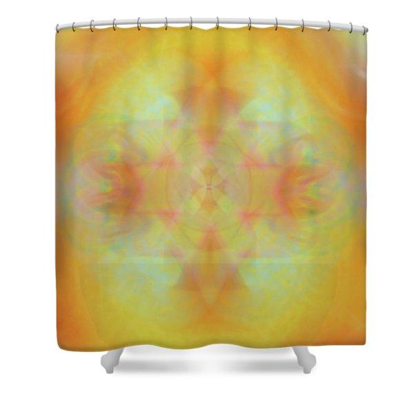 Heavenly Cross Shower Curtain