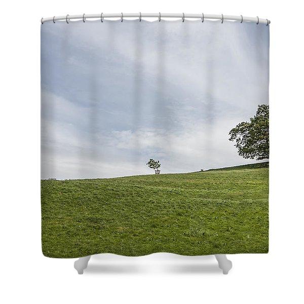 Heavenly Days Shower Curtain