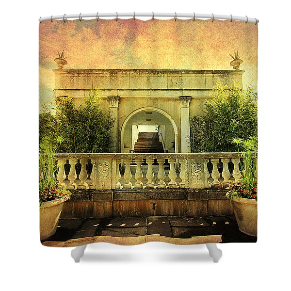 Heavenly Gardens Shower Curtain