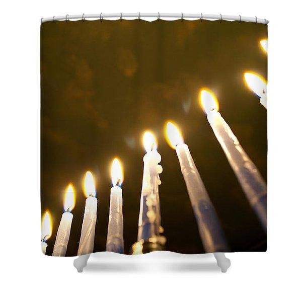 Heavenly Lights Shower Curtain