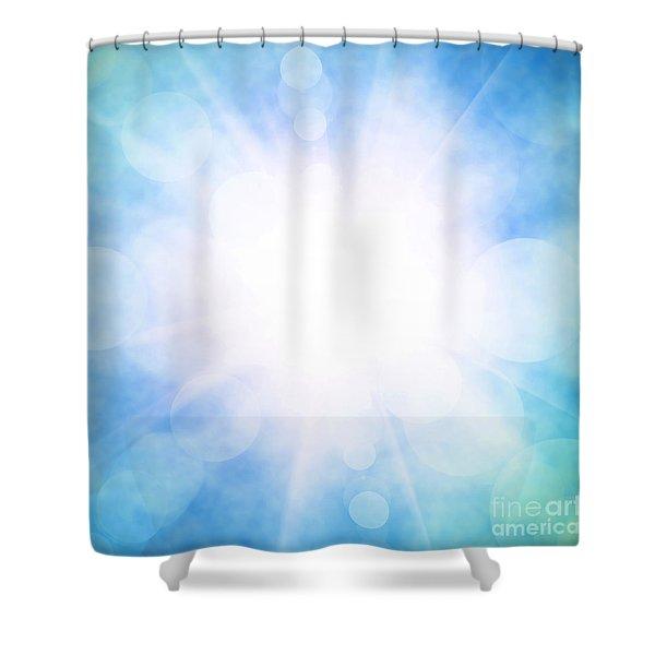 Heavenly Sky Shower Curtain
