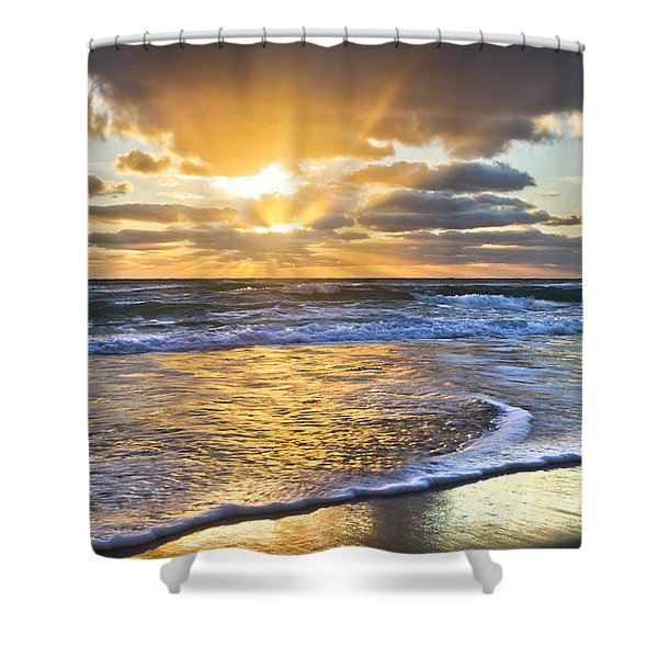Heaven's Skylight Shower Curtain
