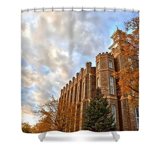 Heavenward Shower Curtain