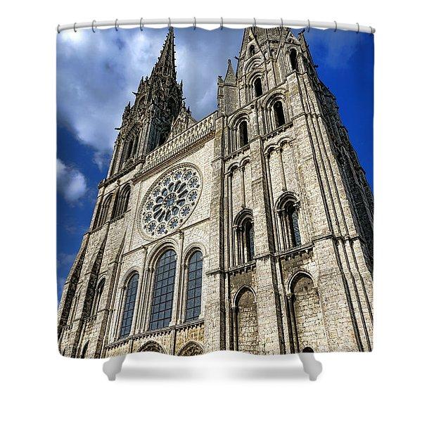 Heavenward Shower Curtain