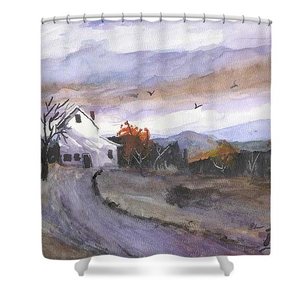 Hebo Farmhouse Shower Curtain