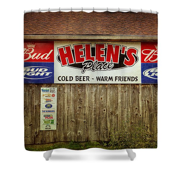 Helen's Place Shower Curtain