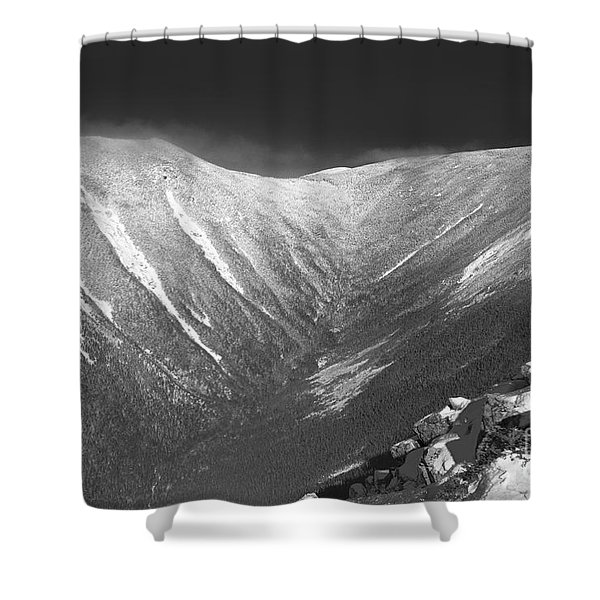 Shower Curtain featuring the photograph Hellgate Ravine - White Mountains New Hampshire by Erin Paul Donovan