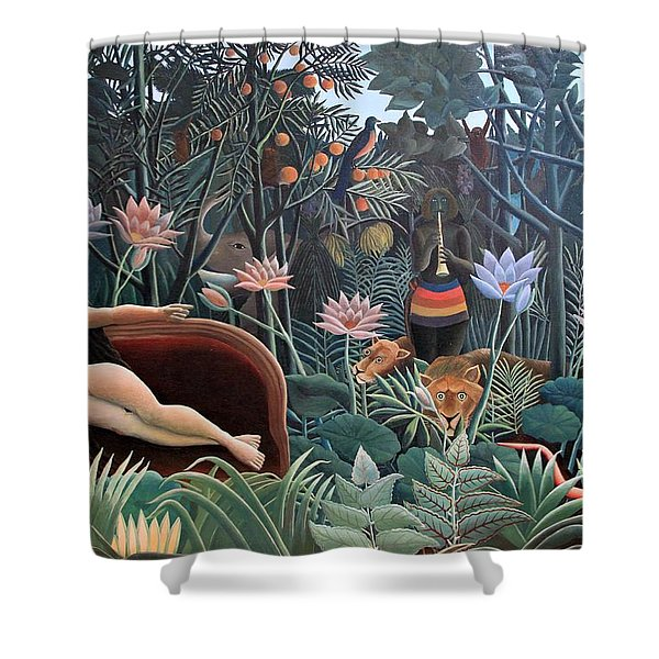 Henri Rousseau The Dream 1910 Shower Curtain