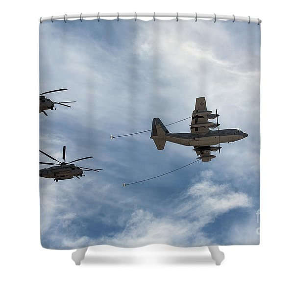 Hercules And Sea Stallions Shower Curtain