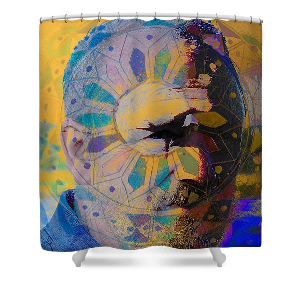 He's My Brother Shower Curtain
