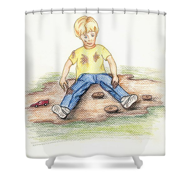 Hez Shower Curtain