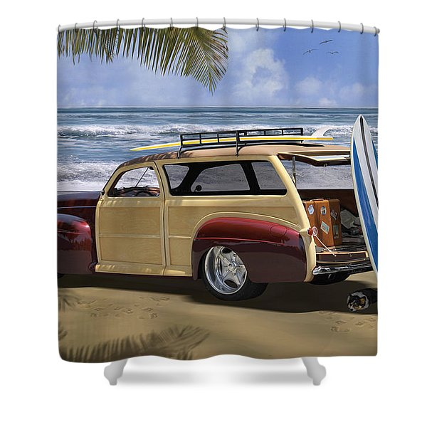 Hideaway 2 Shower Curtain