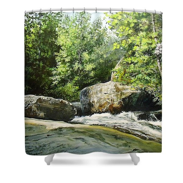 Hideaway Shower Curtain