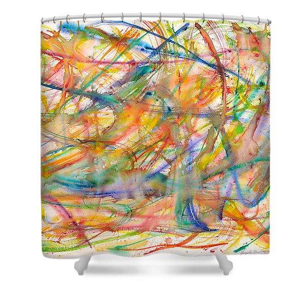 High Energy Shower Curtain