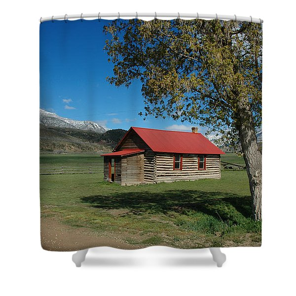 High Lonesome Ranch Shower Curtain