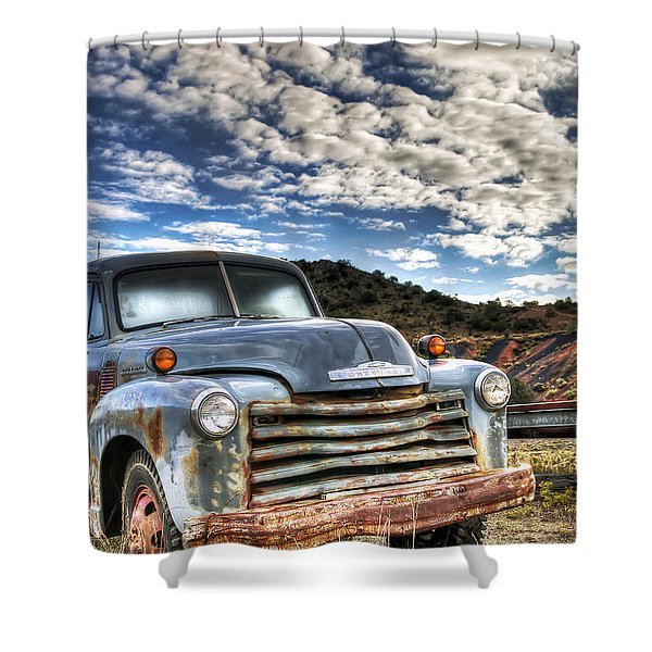 High Miles Shower Curtain
