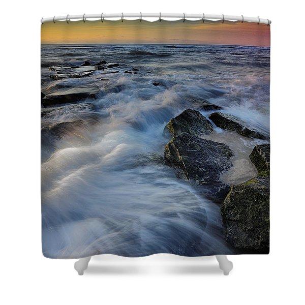 High Tide Shower Curtain