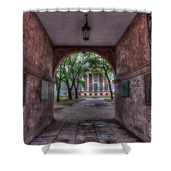 Higher Education Tunnel Shower Curtain