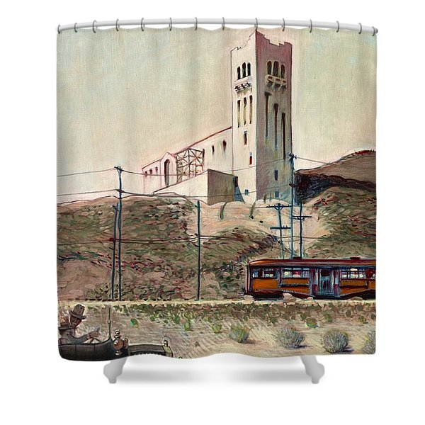 Highland Park 1914 Shower Curtain