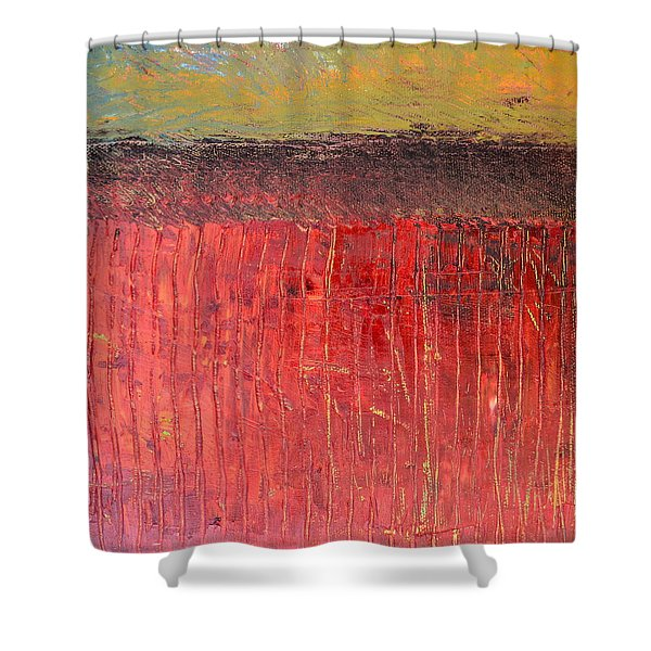 Highway Series - Cranberry Bog Shower Curtain