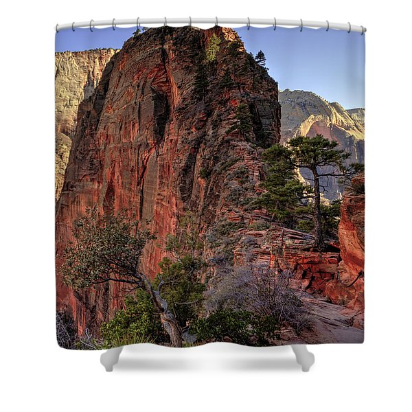 Hiking Angels Shower Curtain