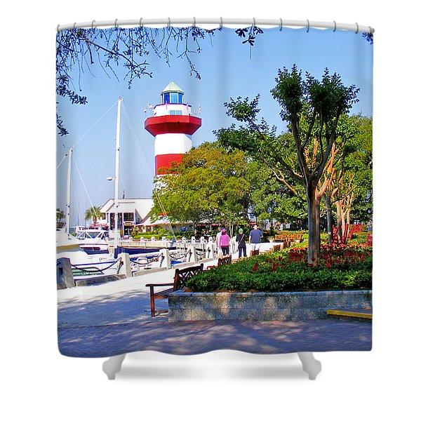 Hilton Head Lighthouse Shower Curtain