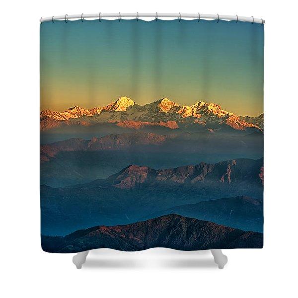 Himalaya Shower Curtain