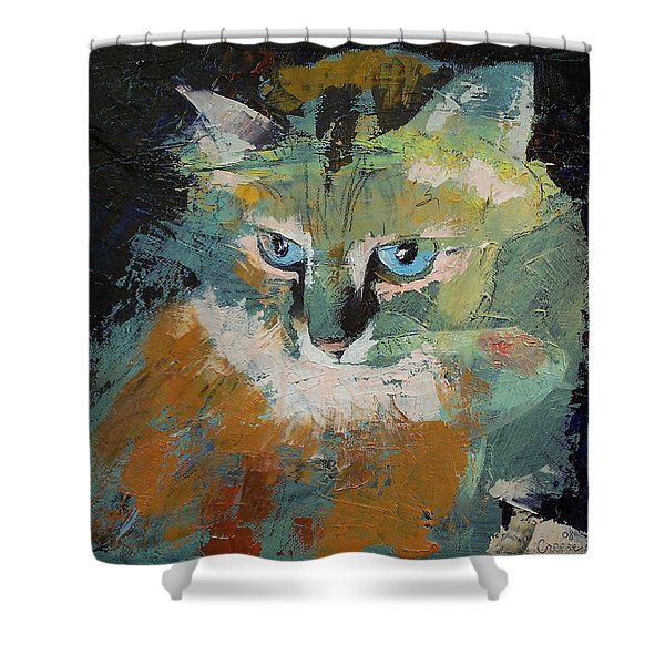 Himalayan Cat Shower Curtain
