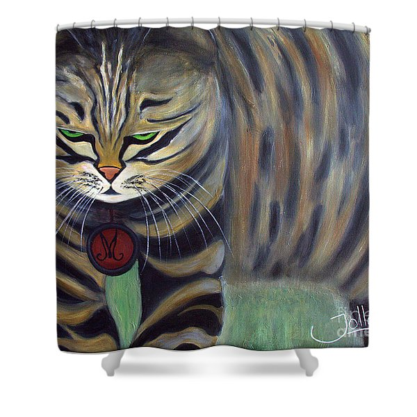 His Lordship Monty Shower Curtain