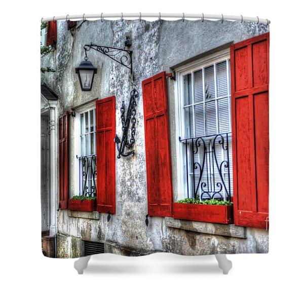 Historic Charleston Pirates House Shower Curtain