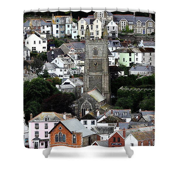 Historic Fowey Shower Curtain