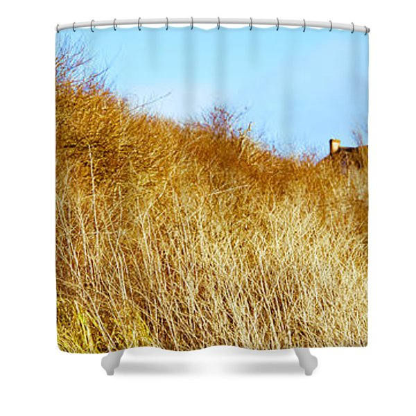 Historic Home On A Landscape, Whidbey Shower Curtain