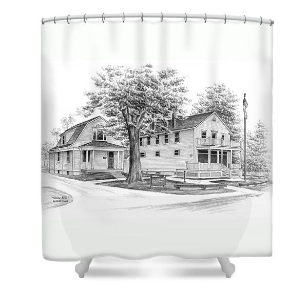 Historic Jaite Mill - Cuyahoga Valley National Park Shower Curtain