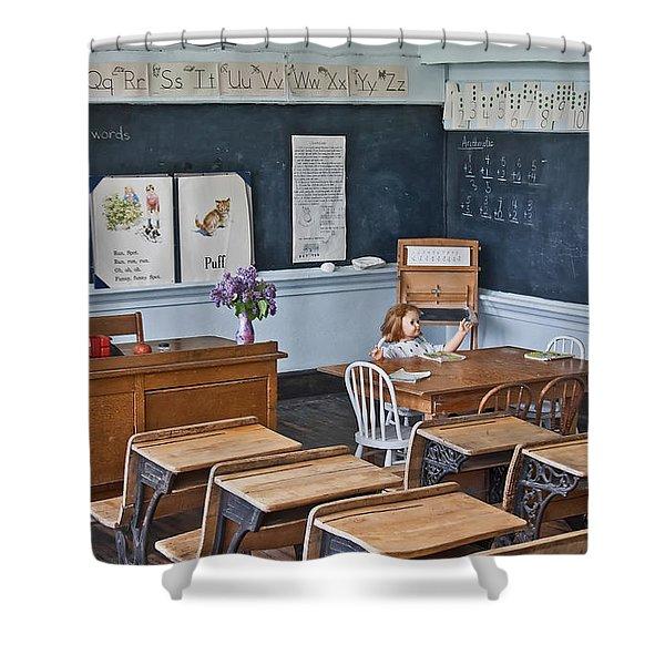 Historic School Classroom Art Prints Shower Curtain