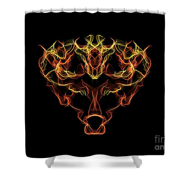 Hj-nuri Shower Curtain