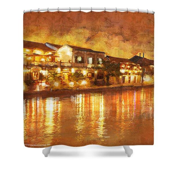 Hoi An Ancient Town Shower Curtain