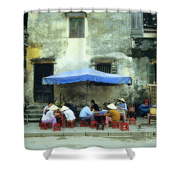 Hoi An Noodle Stall 02 Shower Curtain