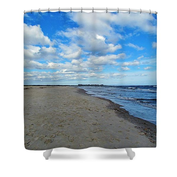 Holden Beach Nc Shower Curtain