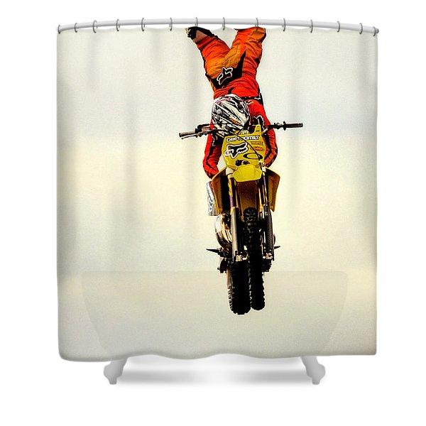 Holdin On 11549 Shower Curtain