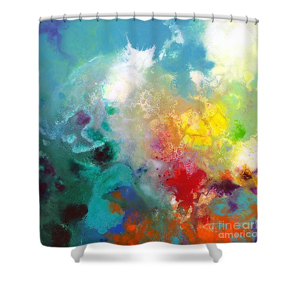 Holding The High Watch Canvas One Shower Curtain