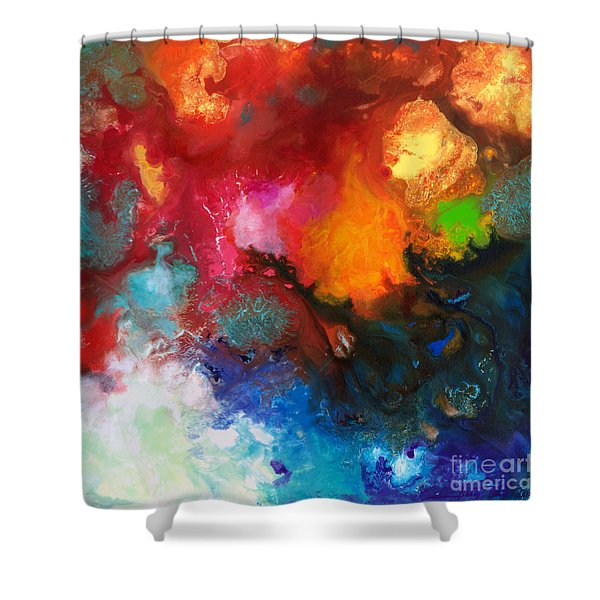 Holding The High Watch Canvas Three Shower Curtain