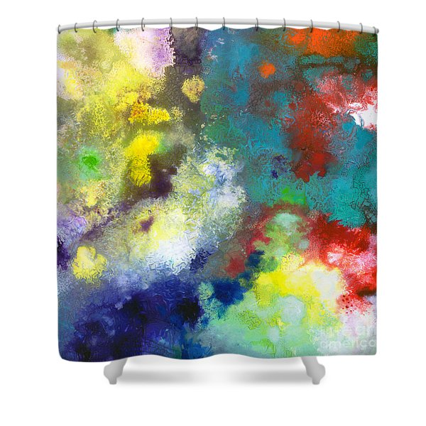 Holding The High Watch Canvas Two Shower Curtain