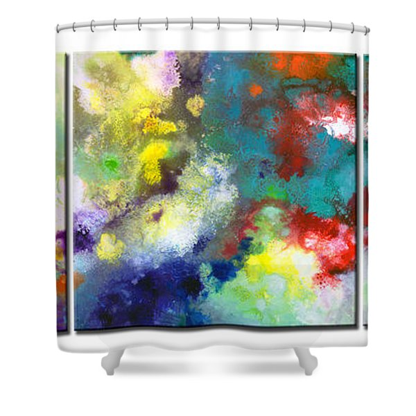 Holding The High Watch Triptych Shower Curtain
