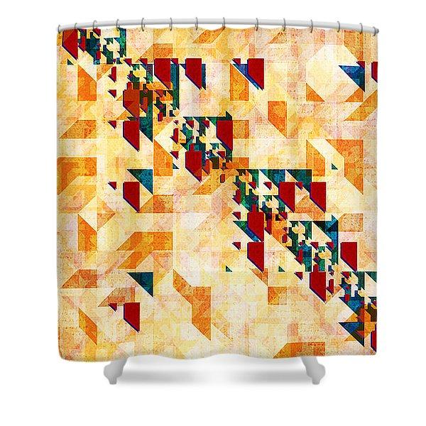 Hollerith Shower Curtain