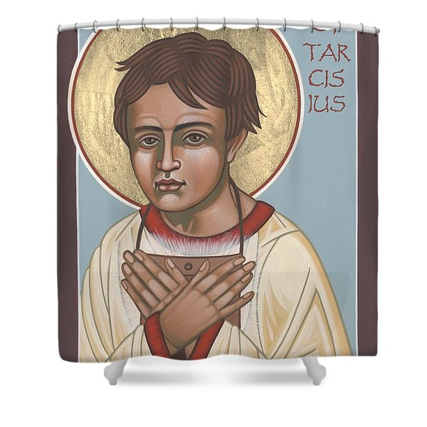 Holy Martyr St. Tarcisius Patron Of Altar Servers 271 Shower Curtain