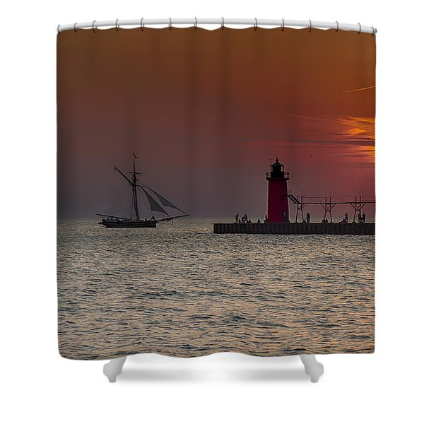Home Bound Shower Curtain