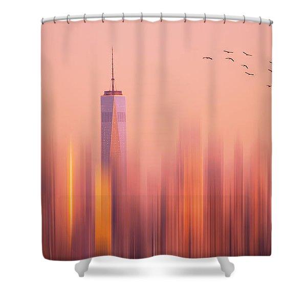 Towards Freedom Shower Curtain