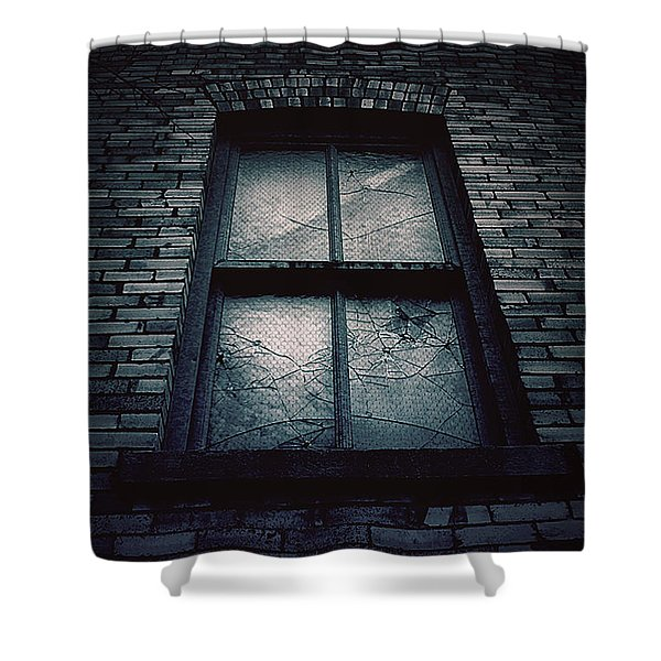 Home I'll Never Be Shower Curtain