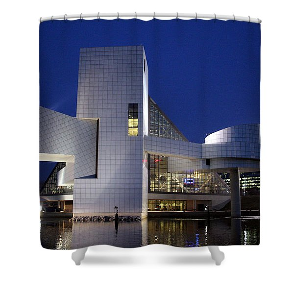 Home Of Rock 'n Roll Shower Curtain